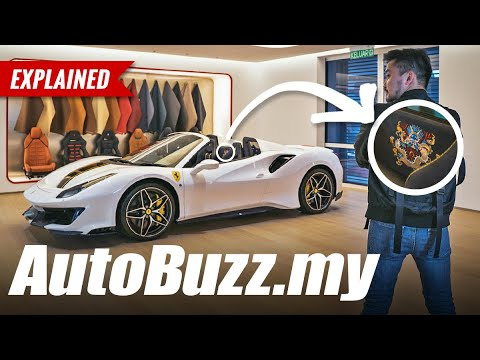 The first Ferrari Pista Spider in Malaysia with full Tailor Made treatment! - AutoBuzz.my