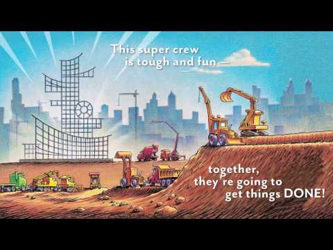 Mighty, Mighty Construction Site Book by Sherri Duskey Rinker and Tom Lichtenheld -- Book Trailer