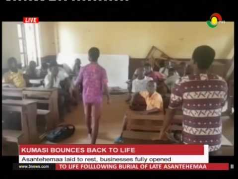 Kumasi business bounces back to life - 20/1/2017