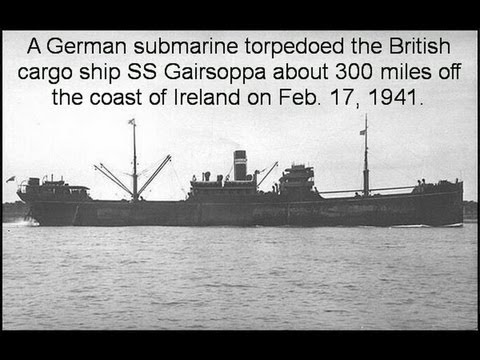 SS Gairsoppa Ship Sunk By German Sub in WWII Recovered - Silver Treasure Found by Odyssey Marine