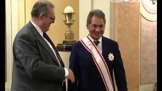 Шойгу получил награду Мальтийского ордена