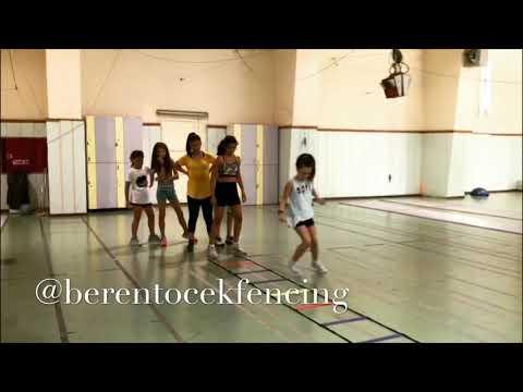 Fencing summer training program.