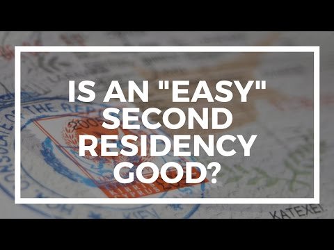 Is EASY second residency really easy in countries like Panama?