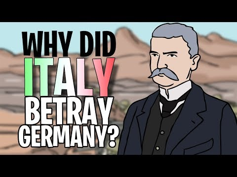 Why did Italy 'Betray' the German Empire? | Animated History