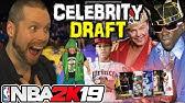 NBA 2K19 Celebrity Draft