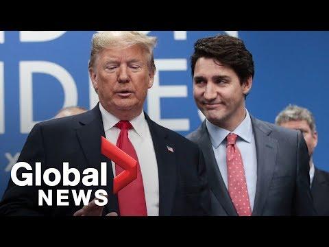 Trump calls Trudeau