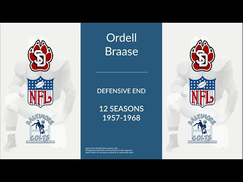 Ordell Braase: Football Defensive End