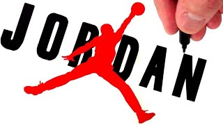 Video How to Draw the Air Jordan Logo download MP3, 3GP, MP4, WEBM, AVI, FLV Agustus 2018