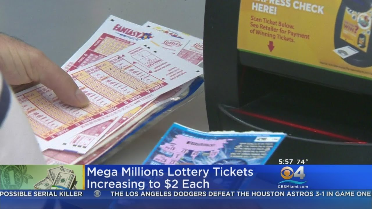 Cost Of Mega Millions Lottery Ticket Going Up