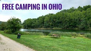Free Camping at Bicenтennial CG, AEP Recreation Land, Ohio