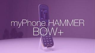Ten telefon ma klapkę, w 2017 roku. W dodatku jest pancerny. Test myPhone Hammer BOW+
