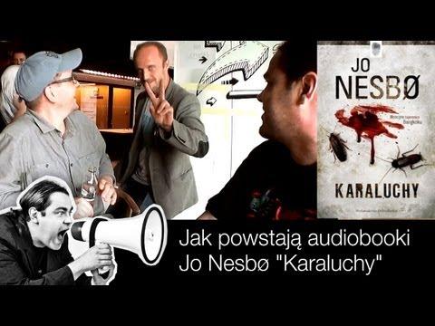 """Jak powstają audiobooki - Jo Nesbø """"Karaluchy"""" (konkurs - w opisie)"""