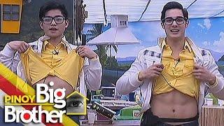 pbb 7 day 121 tanner at tanyong pinasaya ang mga housemates sa kanilang performance