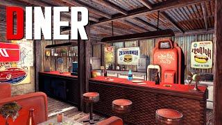Fallout 4 Settlement Build: Diner