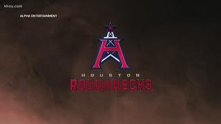XFL's Houston Roughnecks have arrived