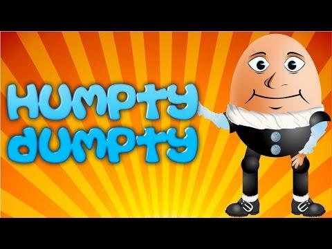 Humpty Dumpty - KARAOKE - LARGE TEXT