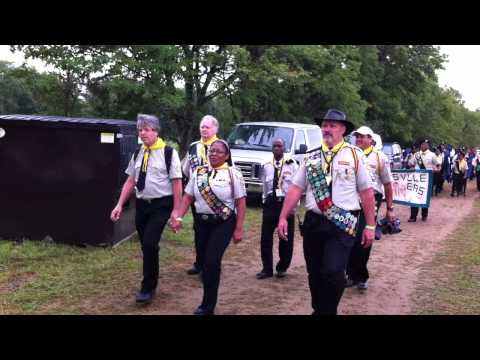 COLUMBIA UNION PATHFINDER CAMPOREE (NEW JERSEY CONFERENCE) PARADE
