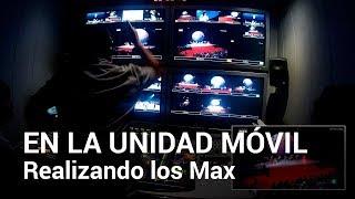 Los Premios Max desde la UNIDAD MÓVIL de TVE