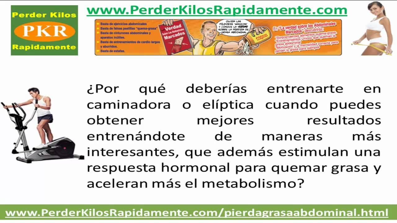tips caseros para perder grasa abdominal