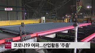 코로나19 여파...산업활동 ′주춤′