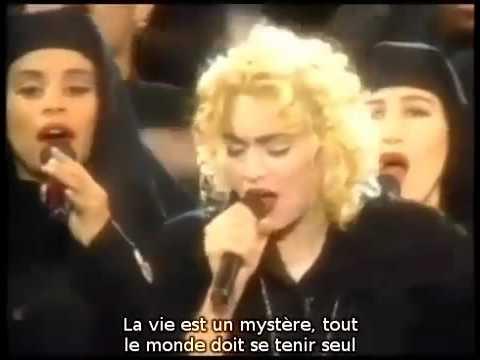 Madonna  1989 Like A Prayer  Sous Titres Fr