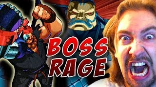BOSS RAGE! Cyber Akuma & Apocalypse Bonus (Marvel Super Heroes VS Street Fighter)