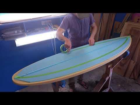 Epoxy Composite Surfboard - JL Shapes #33
