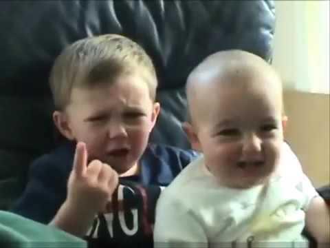 Videos graciosos de bebés