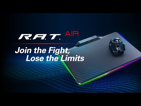 Mad Catz R.A.T. AIR Unboxing