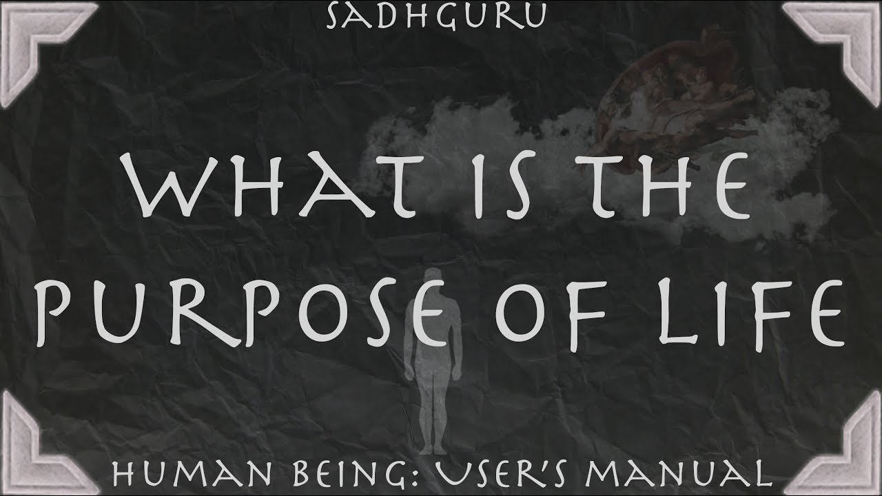 evaluating the true purpose of life of human beings Every human being has a those attributes may be true, but they aren't the purpose for the recent highly acclaimed book purpose driven life by author and.
