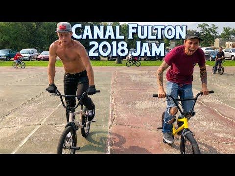 2018 Canal Fulton BMX Jam - Footdown, Long Jump, Best Tricks & More