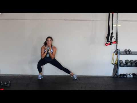 DB ALTERNATING LATERAL LUNGE   fitdesignbyannie