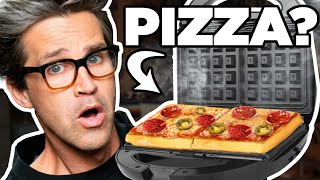 Putting Weird Things In A Waffle Maker (Test)
