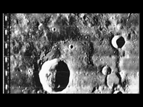 Who Lives In A Crater Like This?.  NASA LO Image 1080P FULLHD