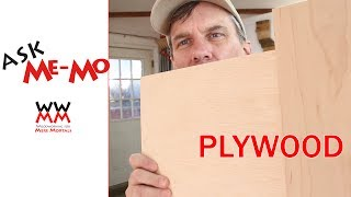 What kind of plywood do you use? Ask Me-Mo