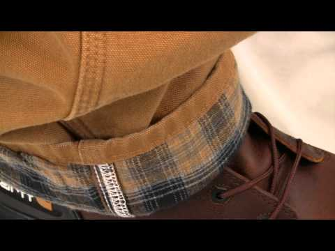 152b441189 Carhartt Washed Duck Dungaree/Flannel Lined B111 - YouTube