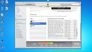How to use File Sharing through itunes using MP3 2 Ringtone Mobile App