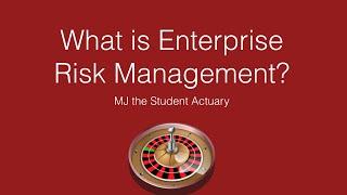 What Is Enterprise Risk Management? Actuarial Science