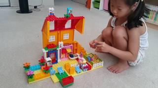 주하의 레고 듀플로 가정집 & 슈퍼마켓 놀이