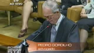 Ministro Cezar Peluso é o novo presidente STF (2/3)