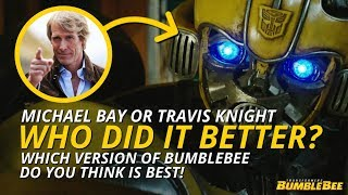 Transformers: Bumblebee - Who Did It Better? (Michael Bay Or Travis Knight) 🐝
