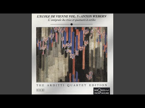 Five Movements For String Quartet, Op. 5: No. 3, Sehr Bewegt