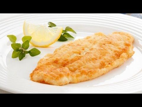 Жареное рыбное филе в кляре