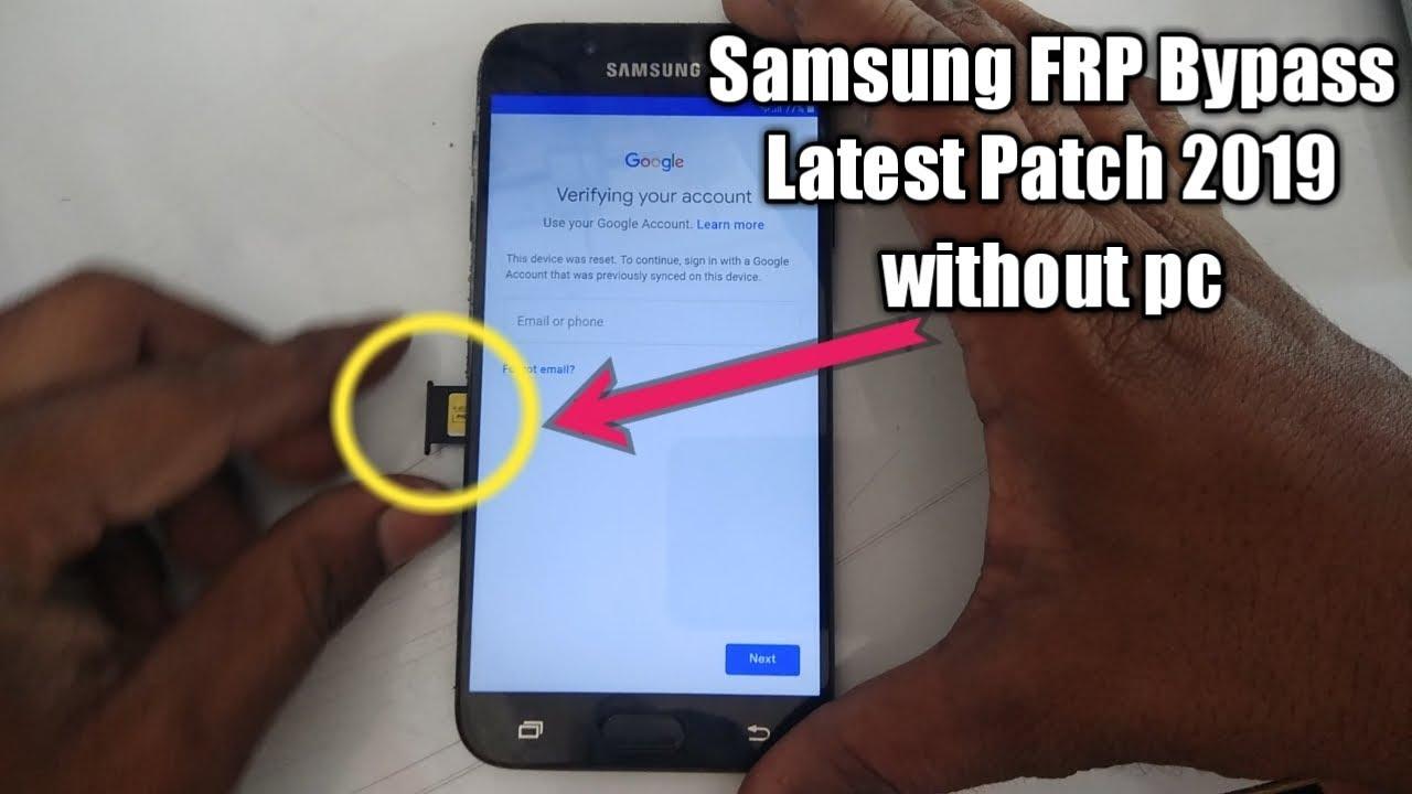 Samsung J7 Pro 8 1 Frp Bypass 2019, new patch google account bypass