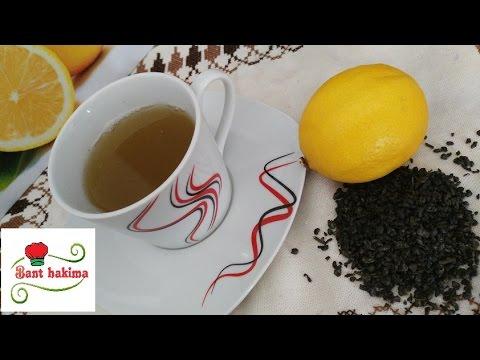 مشروب الشاي الاخضر بالليمون للتخسيس thumbnail