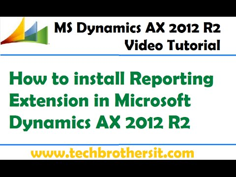 10-How to install Reporting Extension in Microsoft Dynamics
