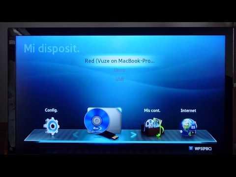 Samsung Bluray Player BD D6500 Español