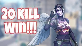 20 kill! Fortnite Xbox win!!!  Video starts @4.00 minutes