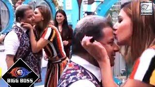 Jasleen Matharu KISSES Anup Jalota On Camera | Bigg Boss 12 Day 9 Update