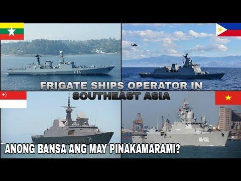 Frigates ships in southeast asian navies